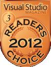 2012 visual studio magazine merit winner