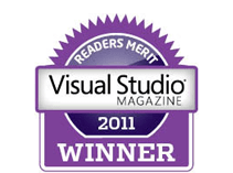 readers merit visual studio magazine 2011 winner